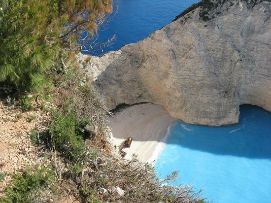 Tsamis Zante: Shipwreck Cove a real treasure