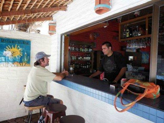 OTRA VEZ Restaurant Bar Pizzeria: Outside bar area