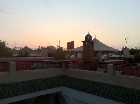 Riad Sharmance: Terrasse du Riad
