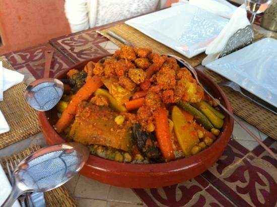 Riad Sharmance : le fameux couscous