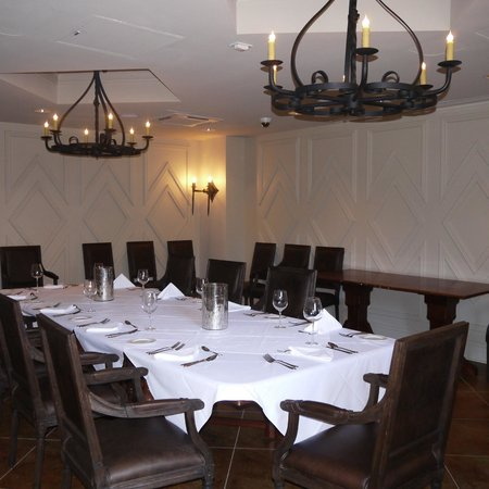 Tableau: Another Lovely Private Dining Room.