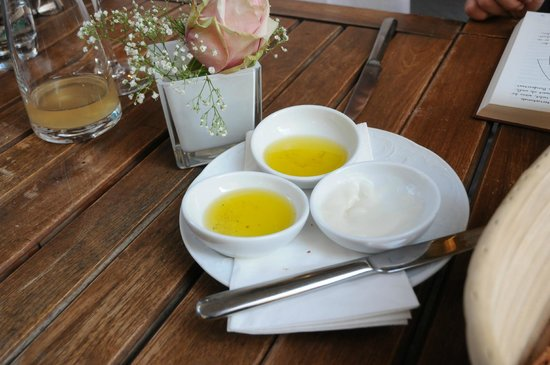 Weinbotschaft: Olive oil and dripping