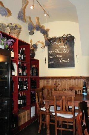 Weinbotschaft: Vinothek