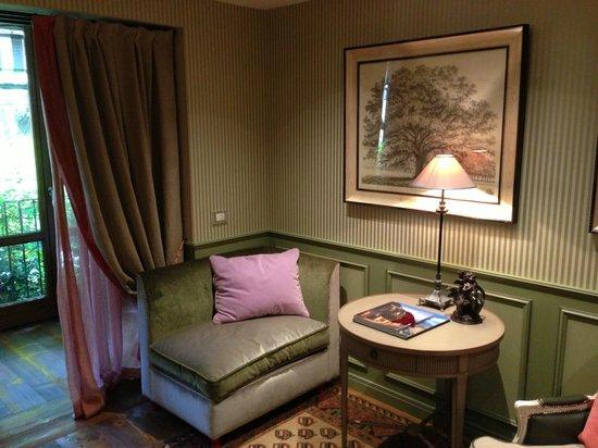 Il Relais della Locanda: Seating area in suite