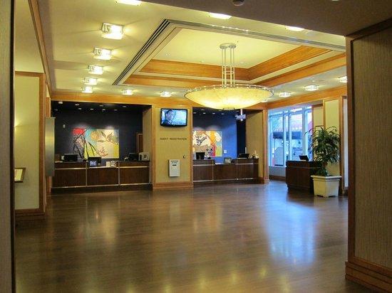 Lobby Front Desk Picture Of Sheraton Grand Sacramento