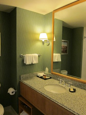 Sheraton Grand Sacramento Hotel: Bathroom