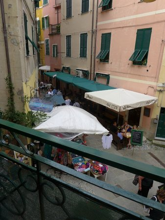 view from room balcony - Picture of L\'Antica Terrazza, Monterosso al ...