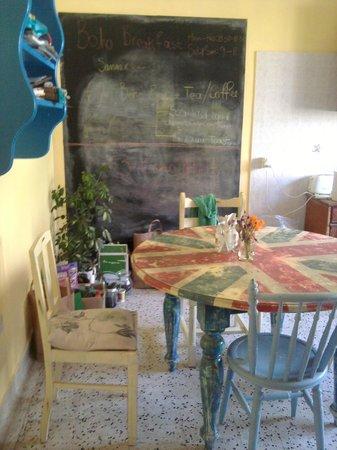 Boho Hostel : The Kitchen!!
