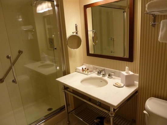 Sheraton Tarrytown Hotel: Room 227 - Bathroom