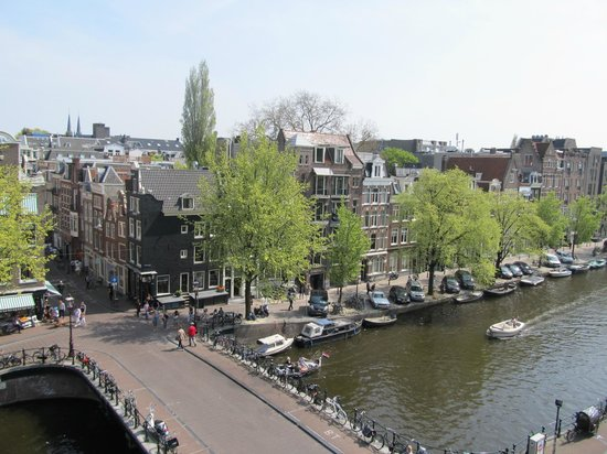 Amsterdam Wiechmann Hotel: A view from our top floor room.