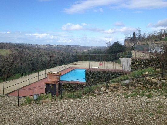 Relais Villa L'Olmo: Pool for Villa