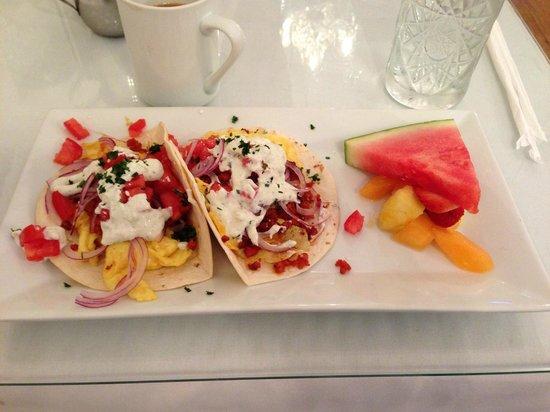 Upper Crust Cafe & Bakery: Huevos Rancheros