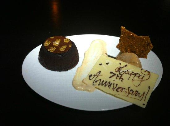 Seven: Chocolate Lava Cake