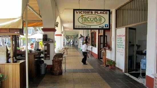 Victor S Place Cafe Tacuba Menu
