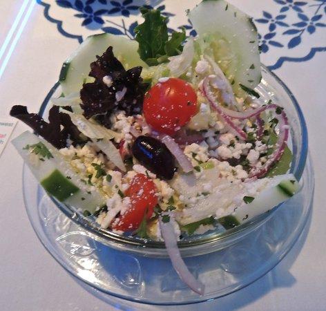 Santorini Greek Kitchen: Greek Salad
