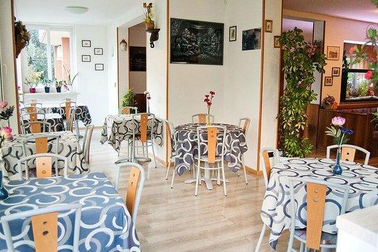 Hotel Garni Ischia: The dining area