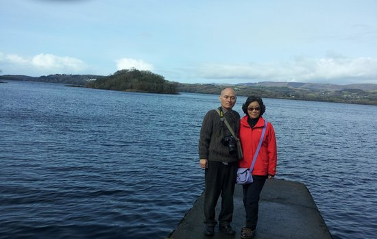 Sligo Tours: front of the Innisfree with my wife