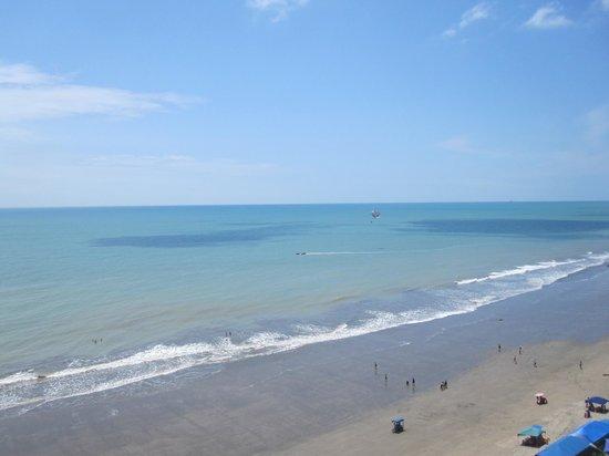 Playa Tonsupa: agua viva
