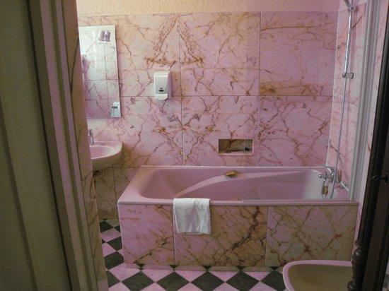 Hotel de La Tour de L'Horloge : How about a bath in the marble lined tub?