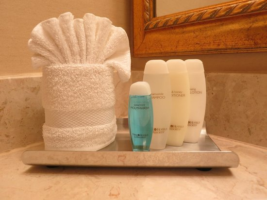 The Hotel Majestic St. Louis: Toiletries