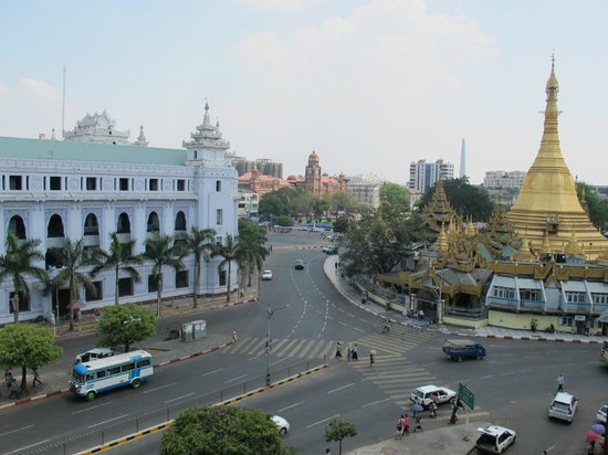 May Shan Hotel: View from room 601