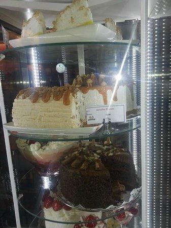 Hungry Horse - The Turf Tavern: new cake fridge