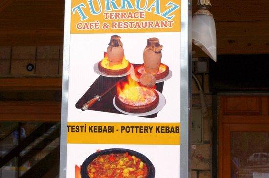 Turkuaz Cafe Restaurant: Turkeaz cafe