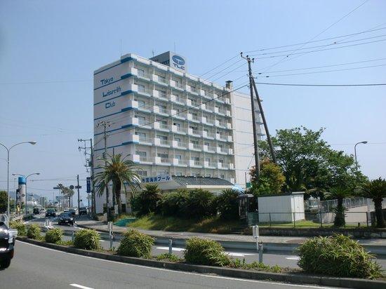 Hotel Ito Powell: 海沿いにあります。