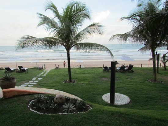Pousada Marambaia Do Porto: Vista a praia a partir do hotel