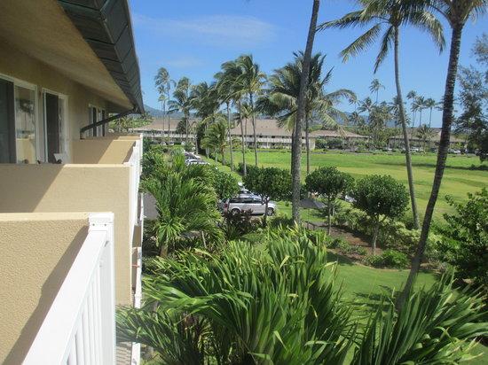 Kauai Coast Resort at the Beachboy: View from Balcony #1