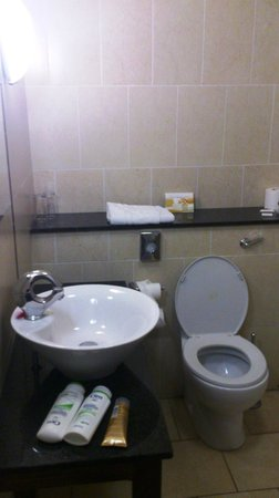 Park Hotel Kiltimagh: Toilet & Sink in Bathroom