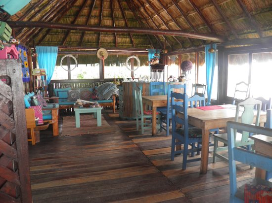 Tulum Hemingway Romantic Cabanas: comedor - desayunador