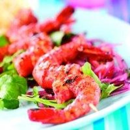 The Spice Avenue Balti Restaurant : Tandoori Tiger King Prawns