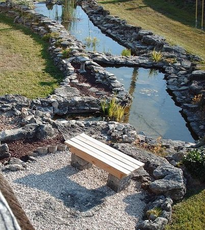 Quail's Nest Inn & Suites: Koi Ponds
