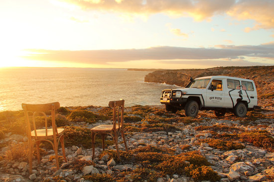 McLaren Vale, Australie : Romantic sunsets - Over The Top tour