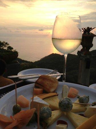 Hotel Villa Caletas: Villa Caletas sunset time