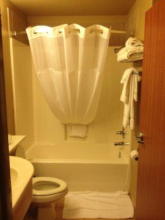 Magnuson Hotel : Shower