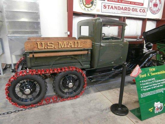 Walcott, IA: 1930 Ford A Snowmobile