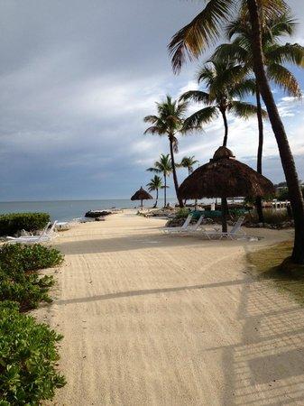 Chesapeake Beach Resort: Hotel beach area