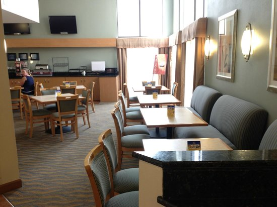 BEST WESTERN Davison Inn : Breakfast area