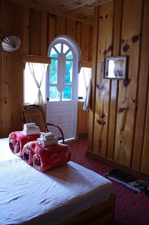 Green Haven Hotel: Wood Paneled Room