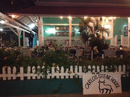 Carlos' Steak House: Add a caption
