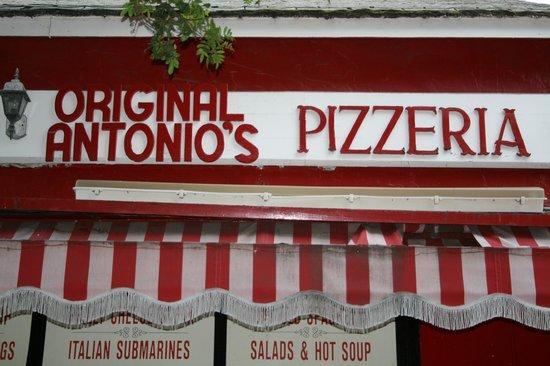 Antonio's Original Pizza: Front Of Store