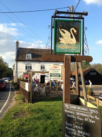 The Swan at Hilborough: The Swan Inn