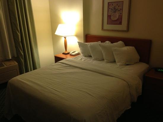 Fairfield Inn Great Falls: Queen Room
