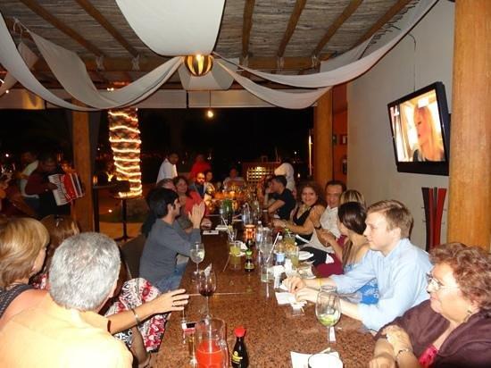 Odayaka Sushi Bar: wedding party enjoying the evening.