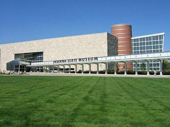 Indiana State Museum: Limestone, Brick, Iron Ore, and Glass