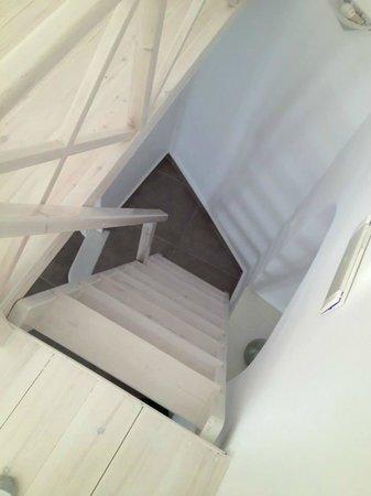 Archontiko Santorini : Archontiko Apartments - Escaleras