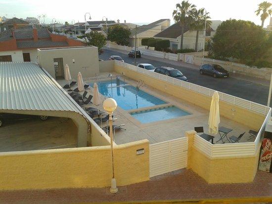 Hotel Meridional: Vista Piscina