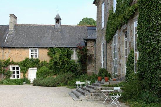 Chateau du Quengo: vue du chateau